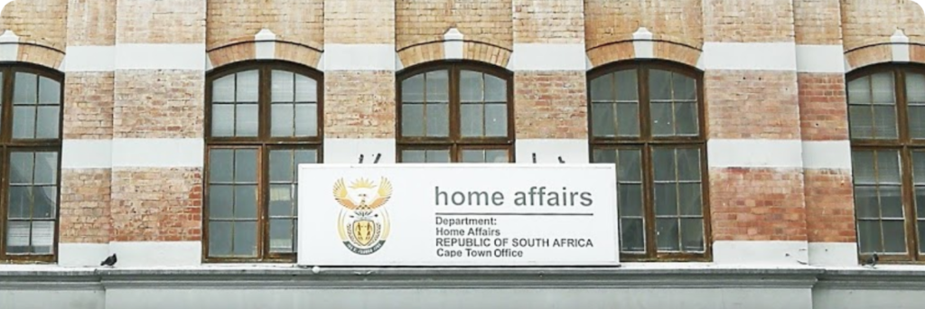 Home Affairs building, Cape Town